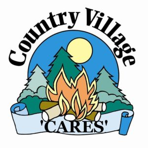 Country village Cares Logo I